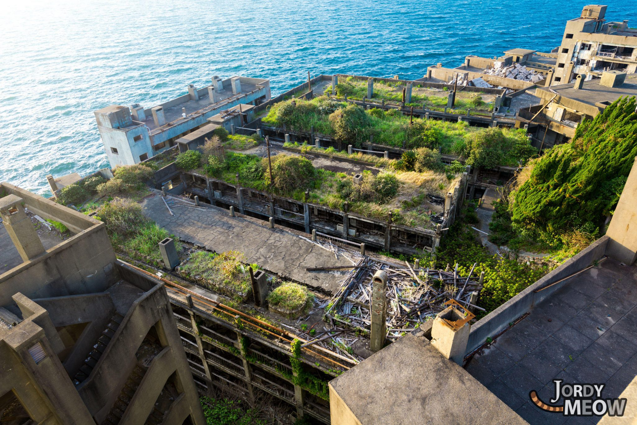Gunkanjima: Apartments