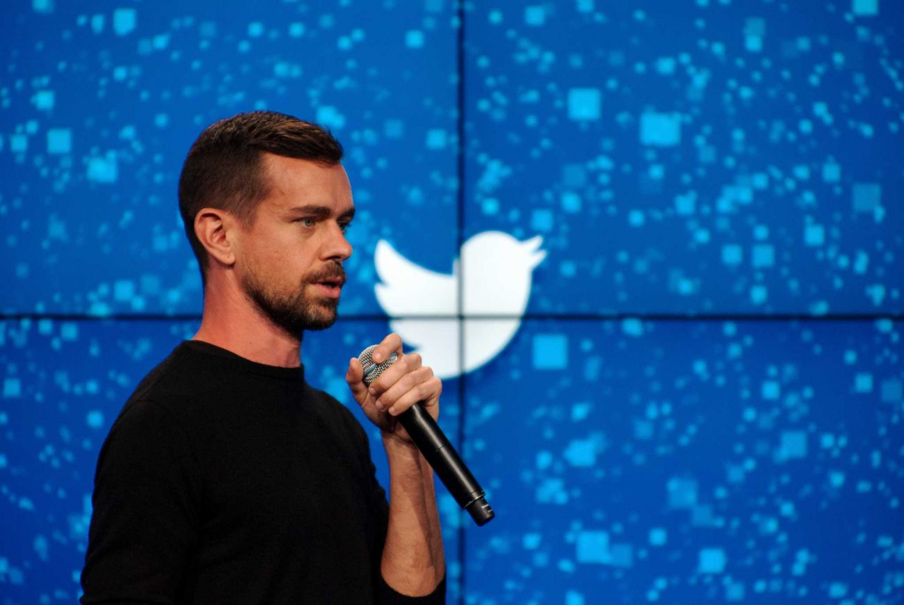 Jack Dorsey, Twitter's co-founder and newly appointed chief executive, speaks at a promotional event in New York.