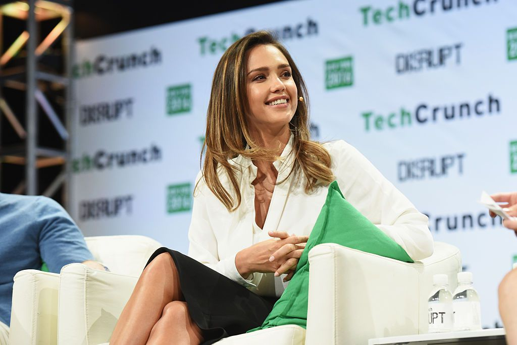 NEW YORK, NY - MAY 11:  Founder and COO of The Honest Company Jessica Alba speaks onstage during TechCrunch Disrupt NY 2016 at Brooklyn Cruise Terminal on May 11, 2016 in New York City.  (Photo by Noam Galai/Getty Images for TechCrunch)